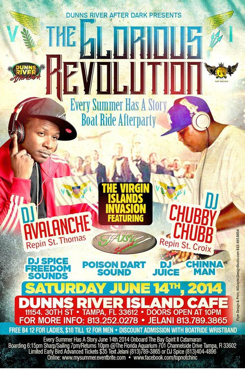 Dunns River Island Cafe Tampa Fl