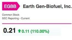 Earth Gen-Biofuel First Day