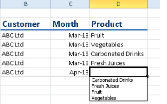 how to get a cell to change automatically in excel