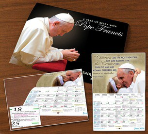 A Year of Mercy with Pope Francis calendar image