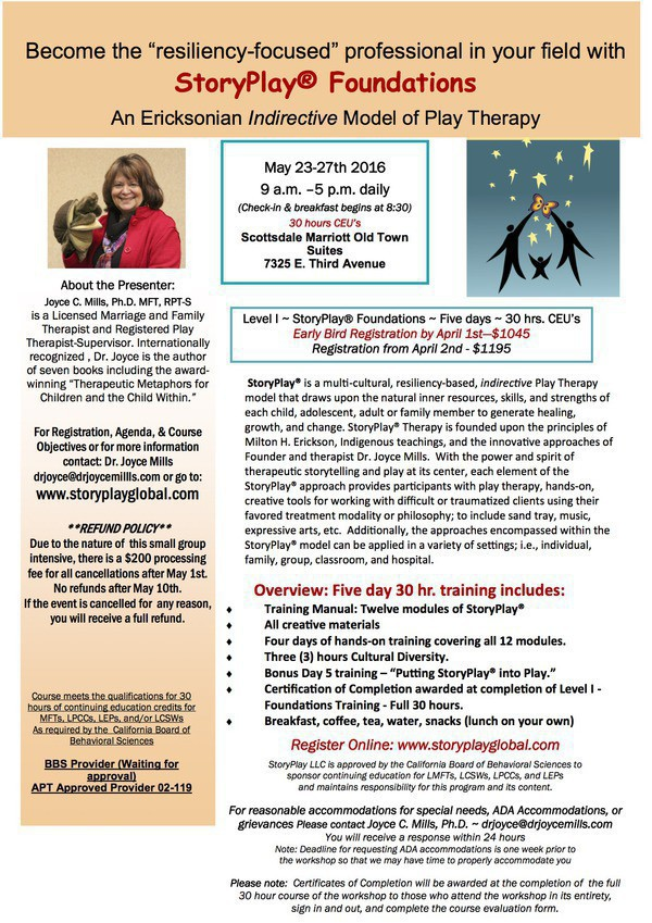 StoryPlay Foundations Flyer Information