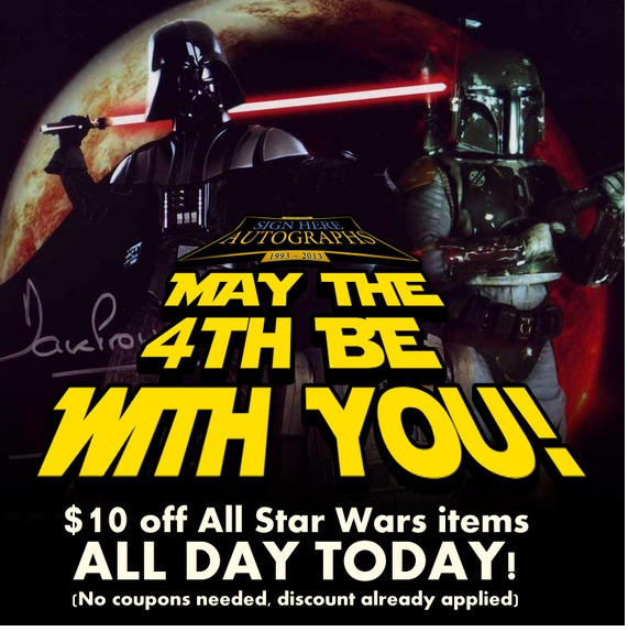 Star Wars Day May 4: Celebrity Birthdays For May 4th And Star Wars Day From
