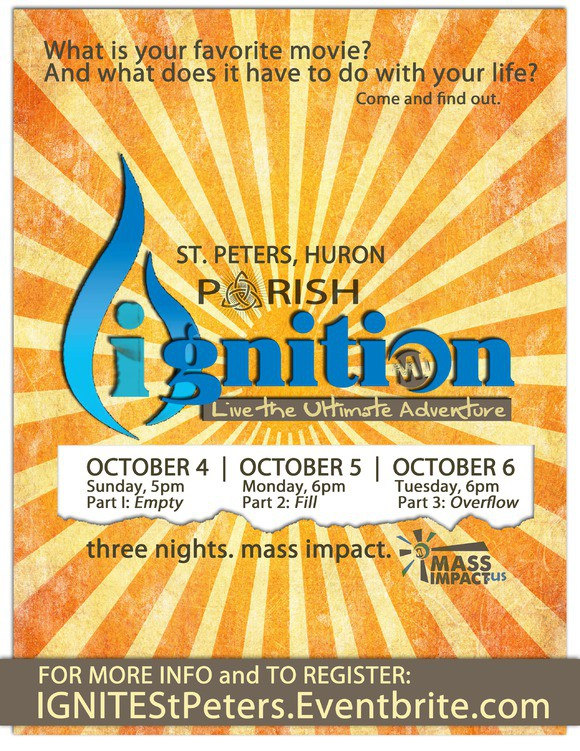PARISH IGNITION: ST PETERS HURON