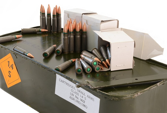 Romanian 7.62x39 123gr FMJ Ammo