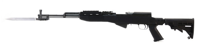 Tactical SKS with Collapsible Stock & Bayonet