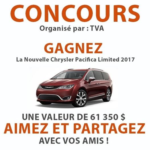 Nouveau Concours Gagnez La Nouvelle Chrysler