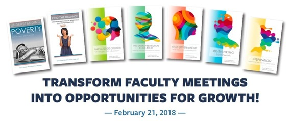 Transform your faculty meetings - February 21st, 2018