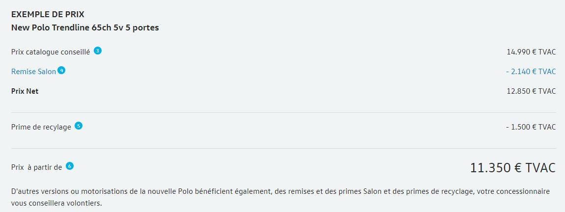 SAN Mazuin Condition Salon Volkswagen Polo