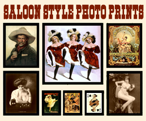 Saloon Style Photo Prints