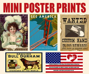 Poster Prints from Legends' General Store