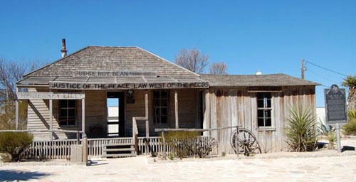 Judge Roy Bean's Jersey Lilly Saloon in Langtry, Tx