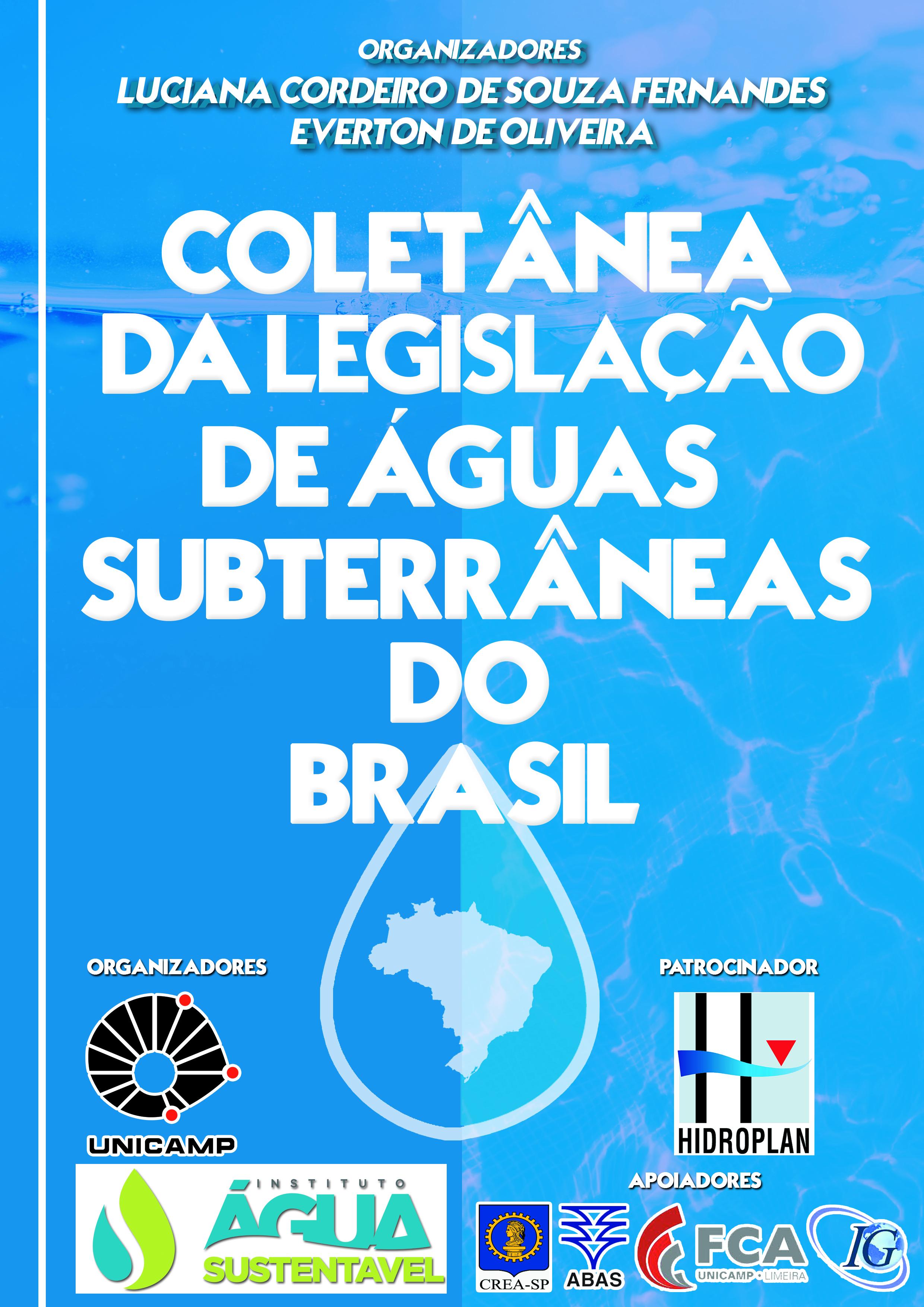 Coletânea de Legislação das Águas Subterrâneas do Brasil