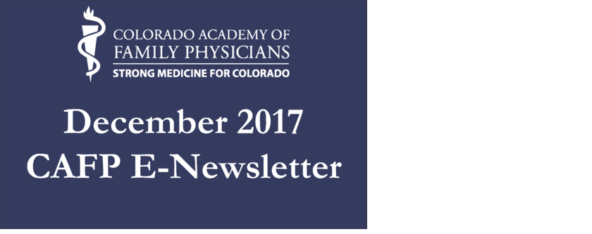 CAFP December 2017 E-Newsletter