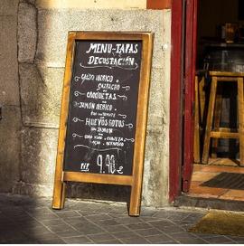 The end of the menu del día?