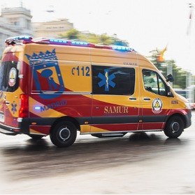 Madrid's emergency ambulance crews