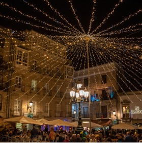 'New York can't compete': Spanish city starts setting up Christmas lights