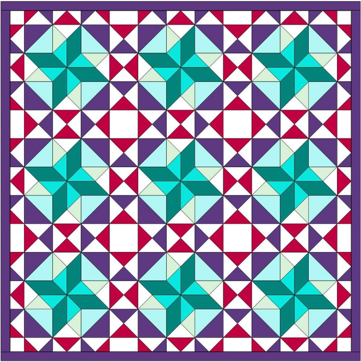 EQ8 Block Spotlight  Did you know there are over 6,000 blocks in EQ8?! We pick one each month to feature on the blog and challenge users to design a quilt with it. Here's one by Susan K. Can you guess what the featured block is for July? View Block Spotlight >