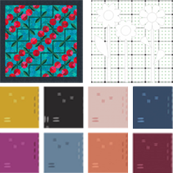 EQ Freebies  Don't miss this month's free downloads, fabric giveaway, and lesson for EQ8!  Project of the Month:Cheerful Cherries  Fabric of the Month:Decostitch Elements from Art Gallery(andfabric giveaway!)  EQ8 Design & Discover lesson:Drawing a Pieced and Applique Block