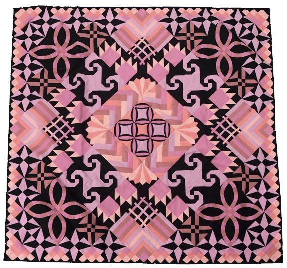 Diana Taylor  Well this quilt is surely getting attention on social media! Diana used EQ8 to create this show stopper. See her EQ8 design in her Instagram post @oliphia.