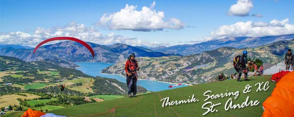 St. Andre - Thermik, Soaring und XC