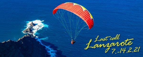 Last call Lanzarote ab 7. Februar