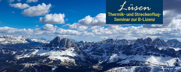 Luesen Thermik- und Streckenflugseminar