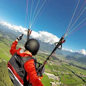 Südtirol-Flugsafari