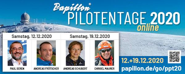 Papillon Online-Pilotentage 2020