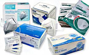 FFP2 und KN95-Atemschutzmasken