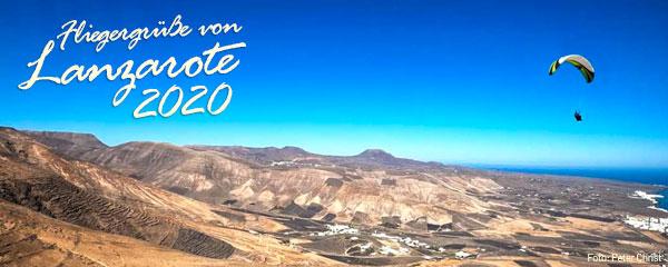 Fliegergruesse von Lanzarote