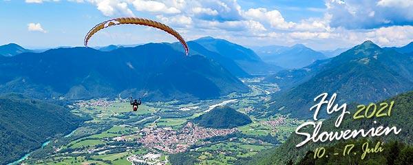 Slowenien Socatal Paragliding