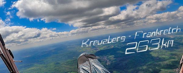 Kreuzberg-Frankreich - 263km