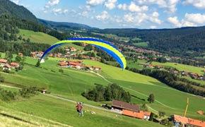 Paragliding Ruhpolding