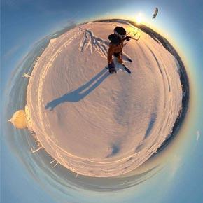 Snowkite Wasserkuppe