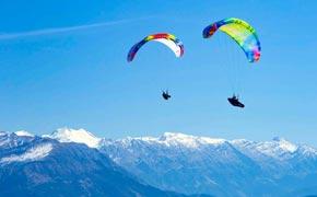 Papillon Paragliding Pindos Griechenland