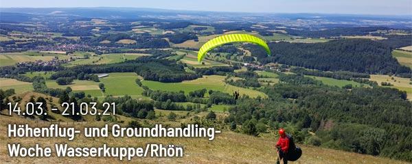 Höhenflug- und Groundhandling-Woche Wasserkuppe/Rhön