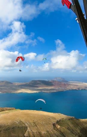 Lanzarote Paragliding